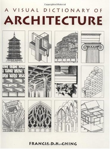 Visual Dictionary of Architecture   1996 edition cover