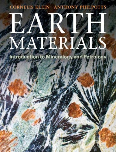 Earth Materials Introduction to Mineralogy and Petrology  2012 edition cover