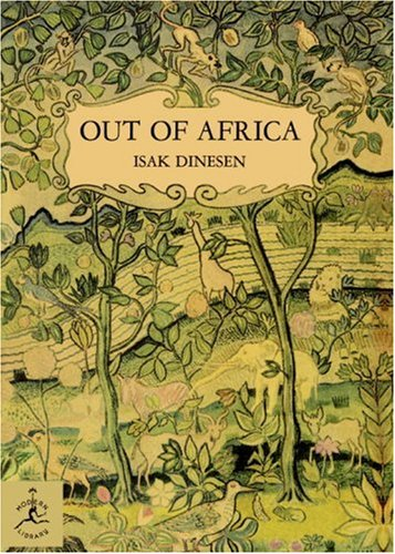 Out of Africa   1997 edition cover