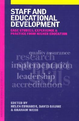 Staff and Educational Development Case Studies, Experience and Practice  2003 9780749440213 Front Cover