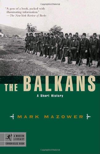 Balkans A Short History N/A edition cover