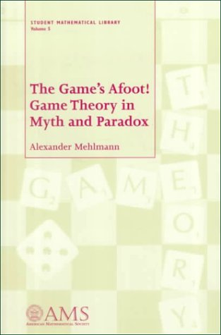 Game's Afoot! Game Theory in Myth and Paradox  2000 edition cover