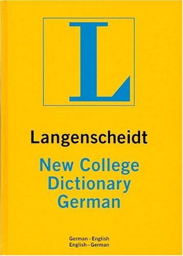 New College German Dictionary Thumb-Indexed  1995 (Teachers Edition, Instructors Manual, etc.) edition cover