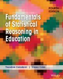 Fundamentals of Statistical Reasoning in Education  4th 2014 edition cover