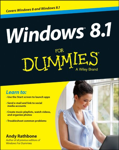 Windows 8.1 for Dummies�   2013 edition cover