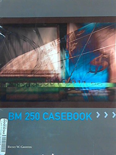 BM 250 CASEBOOK >CUSTOM<       N/A 9781285109213 Front Cover