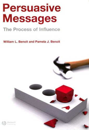 Persuasive Messages The Process of Influence  2008 edition cover