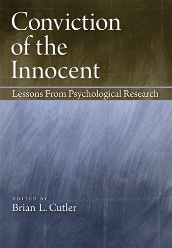 Conviction of the Innocent Lessons from Psychological Research  2012 edition cover
