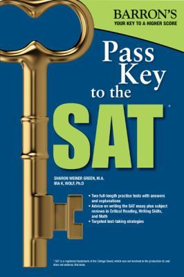 Pass Key to the SAT, 9th Edition  9th 2012 (Revised) edition cover