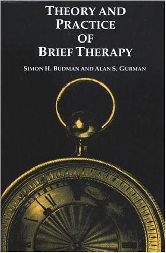 Theory and Practice of Brief Therapy   1988 edition cover