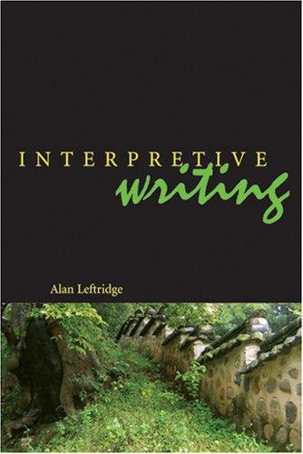 Interpretive Writing  2006 edition cover