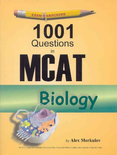 Examkrackers 101 Passages in MCAT Biology   2001 edition cover