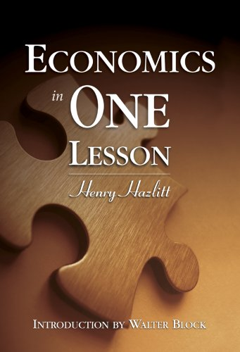 Economics in One Lesson N/A 9781933550213 Front Cover