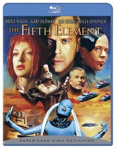 The Fifth Element (Remastered) [Blu-ray] System.Collections.Generic.List`1[System.String] artwork