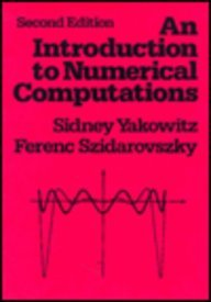 Introduction to Numerical Computations  2nd 1989 edition cover