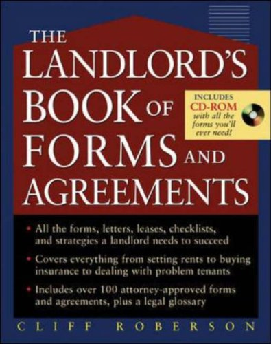 Landlord's Book of Forms and Agreements   2006 9780071461214 Front Cover