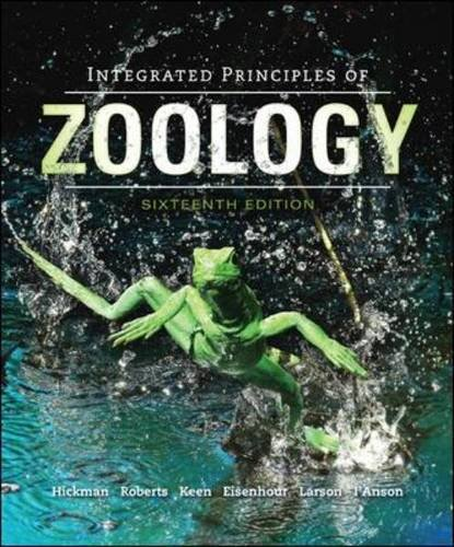 Integrated Principles of Zoology  16th 2014 9780073524214 Front Cover