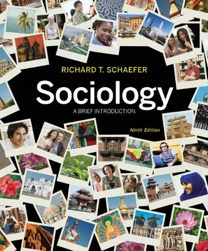 Sociology A Brief Introduction 9th 2011 9780077485214 Front Cover