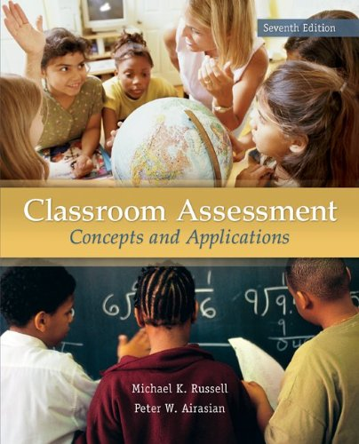 Classroom Assessment  7th 2012 edition cover