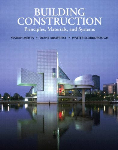 Building Construction Principles, Materials, and Systems  2008 edition cover