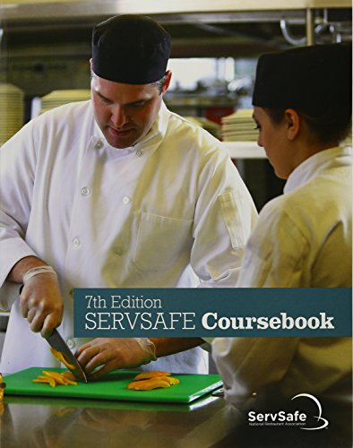 ServSafe CourseBook with Answer Sheet  7th 2018 9780134764214 Front Cover