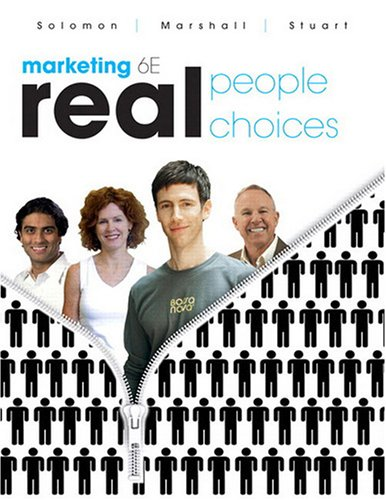 Marketing Real People, Real Choices 6th 2009 edition cover