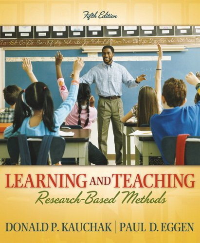 Learning and Teaching Research-Based Methods 5th 2007 edition cover