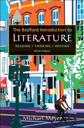 Bedford Introduction to Literature Reading, Thinking, Writing 9th 2011 edition cover