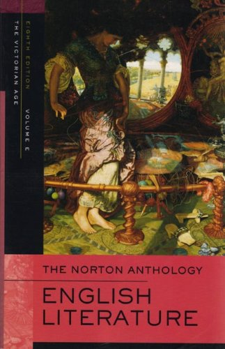 Norton Anthology of English Literature The Victorian Age 8th 2006 edition cover