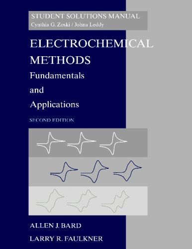 Electrochemical Methods Fundamentals and Applications 2nd 2002 (Revised) 9780471405214 Front Cover