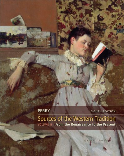 Sources of the Western Tradition, Volume 2  8th 2012 edition cover