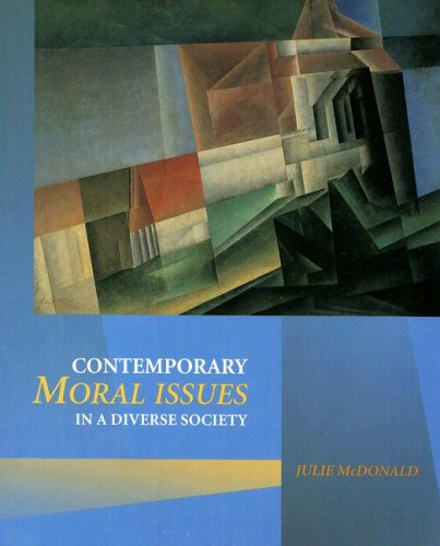 Contemporary Moral Issues in a Diverse Society   1998 9780534513214 Front Cover