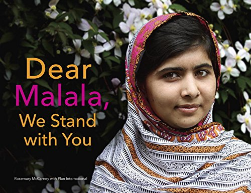 Dear Malala, We Stand with You   2015 9780553521214 Front Cover