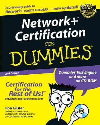 Network+ Certification for Dummies  2nd 2002 (Revised) 9780764516214 Front Cover