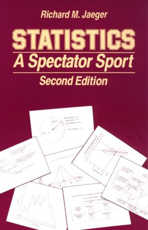 Statistics A Spectator Sport 2nd 1990 (Revised) edition cover