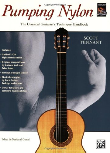 Pumping Nylon The Classical Guitarist's Technique Handbook  1995 edition cover