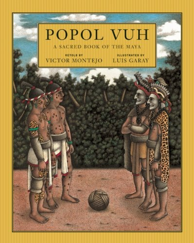 Popol Vuh A Sacred Book of the Maya  2009 edition cover