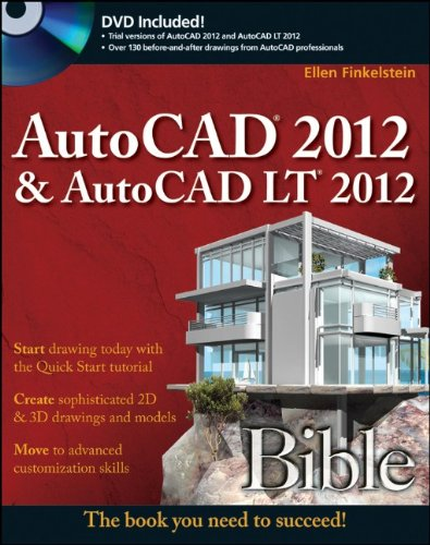 AutoCAD 2012 and AutoCAD LT 2012   2011 edition cover