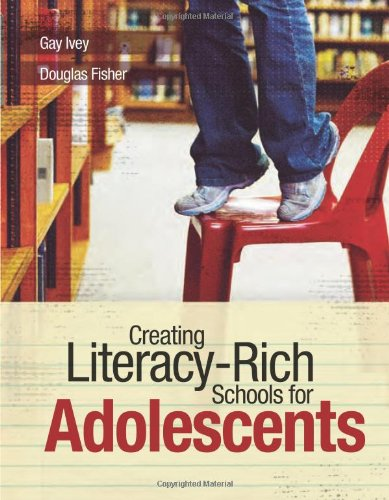 Creating Literacy-Rich Schools for Adolescents   2006 edition cover