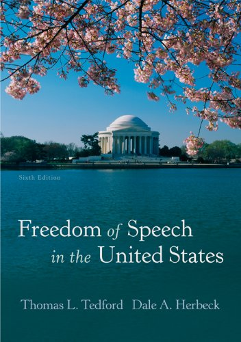 Freedom of Speech in the United States  6th 2009 edition cover