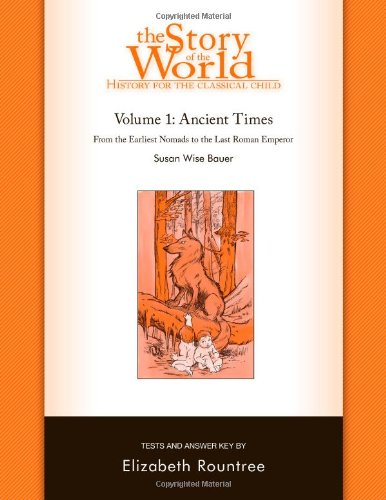 Story of the World Tests Volume One Ancient Times  N/A 9781933339214 Front Cover