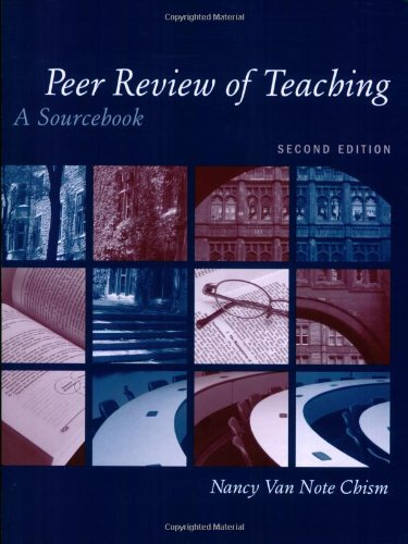 Peer Review of Teaching A Sourcebook 2nd 2007 (Revised) edition cover