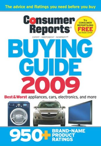 Buying Guide 2009  N/A 9781933524214 Front Cover