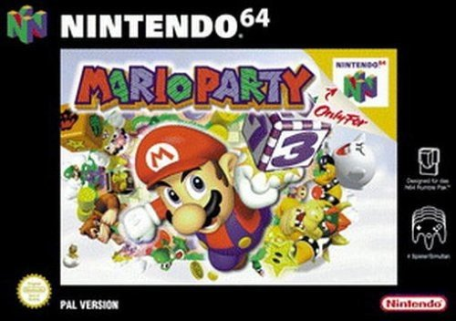 Mario Party Nintendo 64 artwork