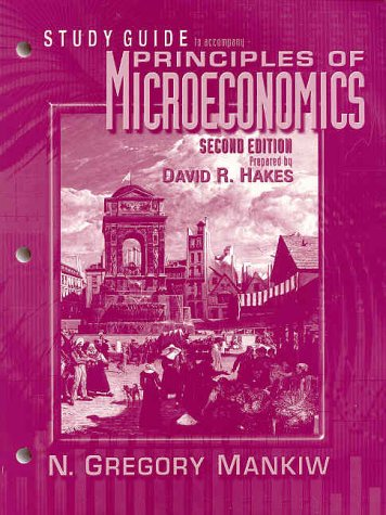 Principles of Microeconomic  2nd 2001 (Guide (Pupil's)) 9780030270215 Front Cover