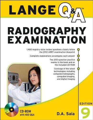 Radiography Examination  9th 2012 edition cover