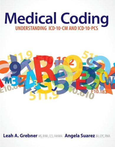 Medical Coding Understanding ICD-10-CM and ICD-10-PCS  2013 edition cover