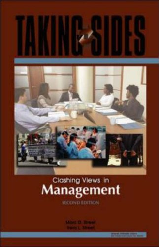 Taking Sides: Clashing Views in Management  2nd 2007 (Revised) edition cover