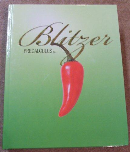 Precalculus 4th 2010 edition cover
