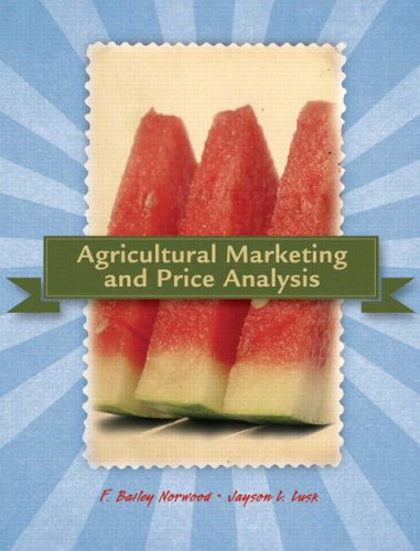 Agricultural Marketing and Price Analysis   2008 edition cover